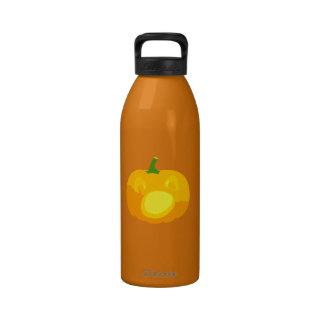 Shocked and Surprised Jack-O-'Lantern Water Bottles