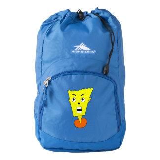 Shocked Cartoon Face Backpack