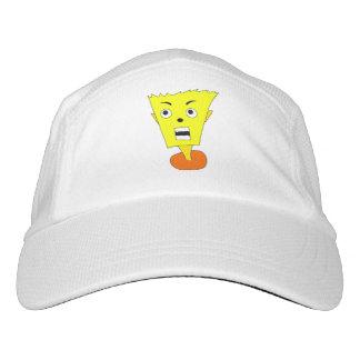Shocked Cartoon Face Headsweats Hat