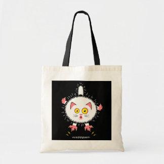 Shocked Cute Cat Tote Bag