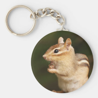 Shocked Expression Chipmunk Keychain