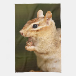 Shocked Expression Chipmunk Towel