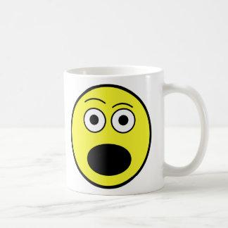 Shocked Face Coffee Mug