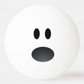 Shocked Face Ping Pong Ball