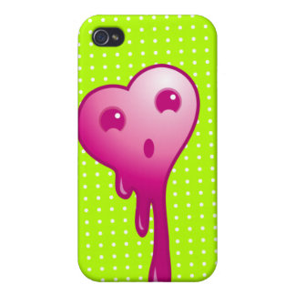 shocked heart i iPhone 4/4S cover