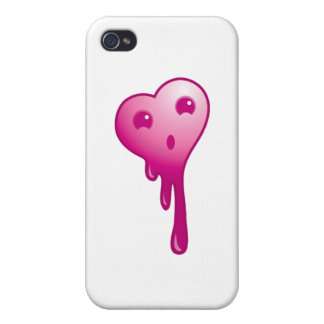 Shocked heart iPhone 4 case