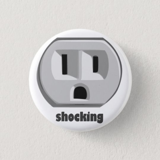 Shocking Electricity Wall Outlet Button