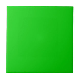Shocking Green Background template - customise own Tiles