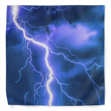 Shocking Lightning Strike Bandana