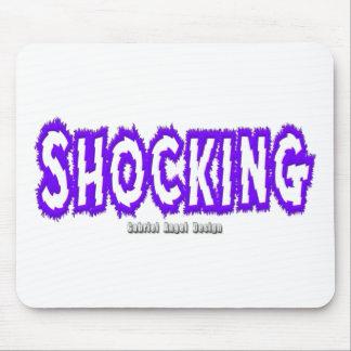 Shocking Logo Mouse Pad