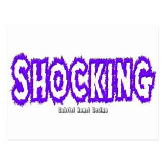 Shocking Logo Postcard