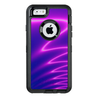 Shocking Pink Lightening OtterBox Defender iPhone Case