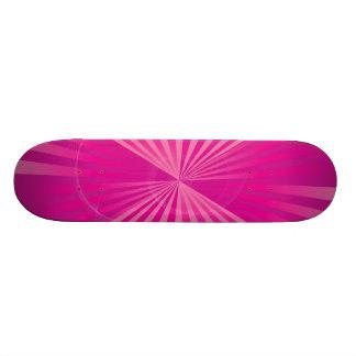 Shocking Pink Skateboard