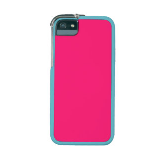 Shocking Pink Solid Color iPhone 5/5S Covers