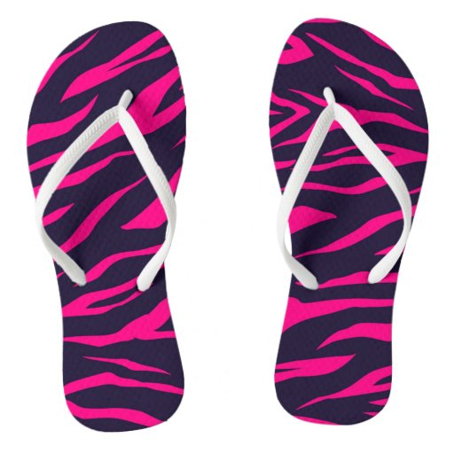 Shocking Pink Zebra