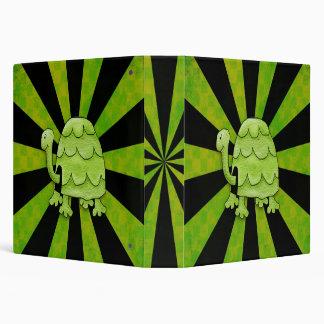 Shocking Turtle 3 Ring Binder