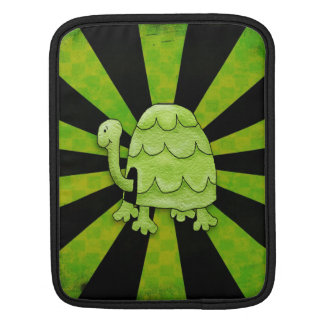 Shocking Turtle Bold Lime Green Sleeve For iPads