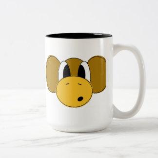 shocking Two-Tone coffee mug