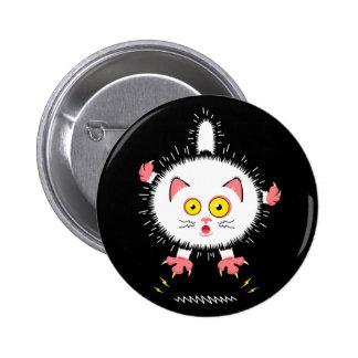 Shockingly Cute Cat Button
