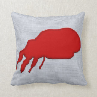 Shockingly Gross Blood Soaked Throw Pillow
