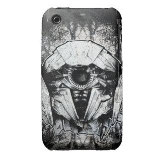 Shockwave Headshot Line Art Case-Mate iPhone 3 Case
