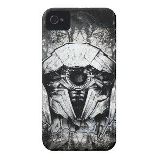 Shockwave Headshot Line Art iPhone 4 Case