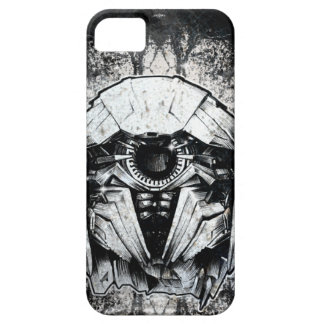 Shockwave Headshot Line Art iPhone SE/5/5s Case