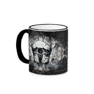 Shockwave Headshot Line Art Coffee Mugs