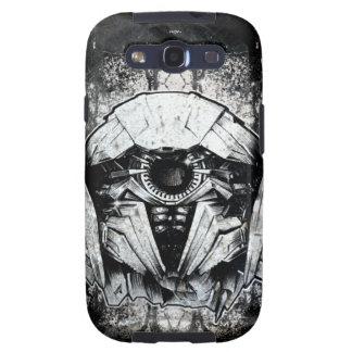 Shockwave Headshot Line Art Samsung Galaxy SIII Case