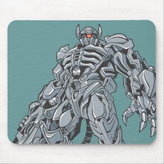 Shockwave Line Art 3 Mouse Pad