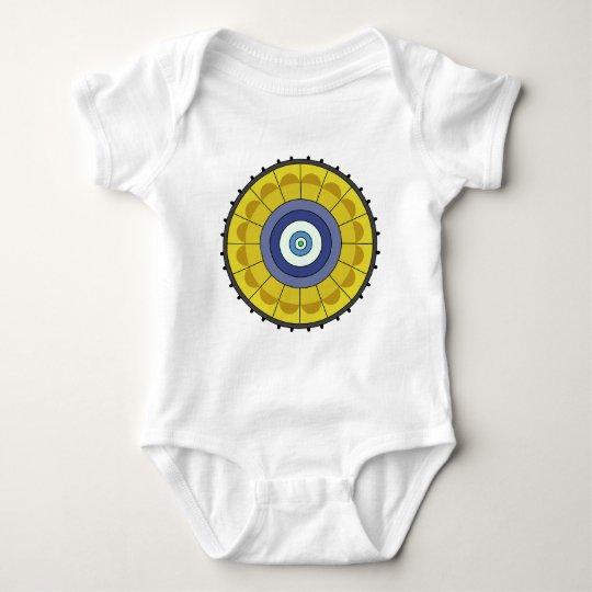 Shockwaves 1 baby bodysuit