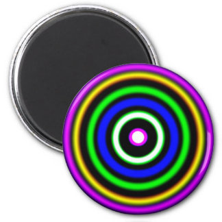 (  ( (Shockwaves) )  ) 2 Inch Round Magnet