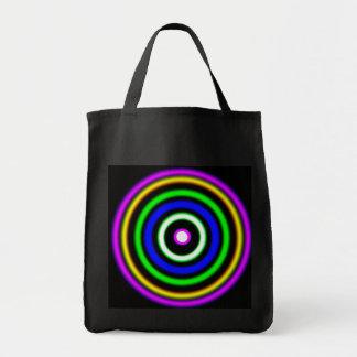 (  ( (Shockwaves) )  ) Grocery Tote Bag