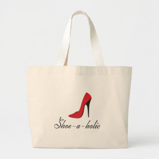 Shoe-a-holic Jumbo Tote Bag