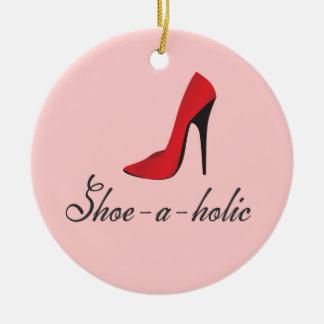 Shoe-a-holic Fashionista Ornament