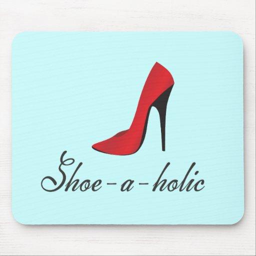 Shoe-a-holic Mouse Pad