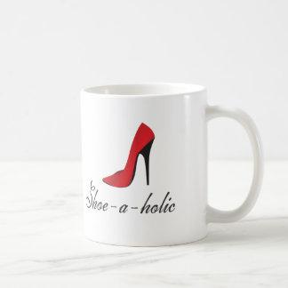 Shoe-a-holic Classic White Coffee Mug