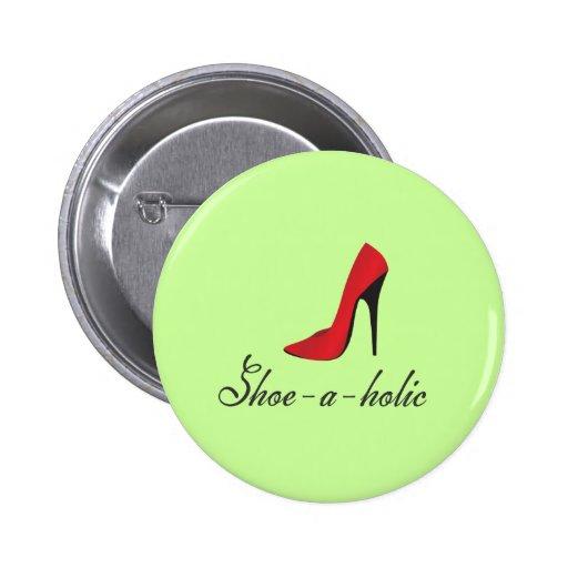 Shoe-a-holic Pins