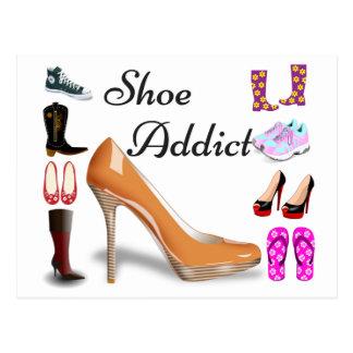 Shoe Addict Postcard