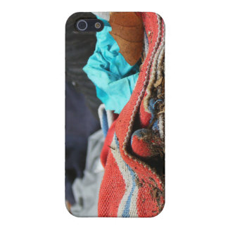 Shoe And Clothing On The Street Cases For iPhone 5