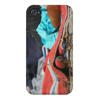 Shoe And Clothing On The Street iPhone 4 Cases