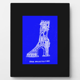 Shoe Architecture Art Plaque