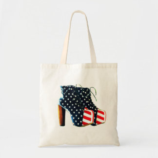 Shoe Bag Red White and Blues USA Flag