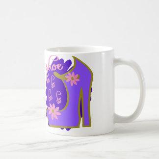 Shoe Bee Do Bee Do With Shoe And Jagged Background Coffee Mug