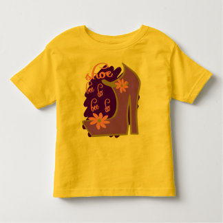 Shoe Bee Do Bee Do With Shoe And Jagged Background Toddler T-shirt