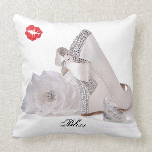 Shoe Bliss - Decorative Pillow throwpillow