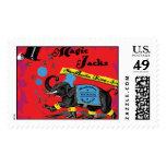 Shoe Bootie King of Jacks Postage Stamp