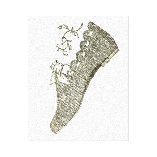 Shoe Canvas Print