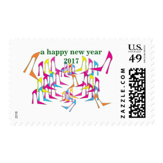 Shoe Celebration New Year  1 st class stamps