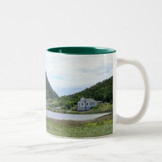 Shoe Cove, Newfoundland Two-Tone Coffee Mug